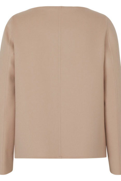 Herno Women's Cashmere Jacket Beige BACK