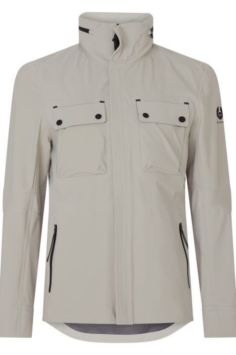 Belstaff Men's Slipstream Tri-layer Jacket Beige FRONT