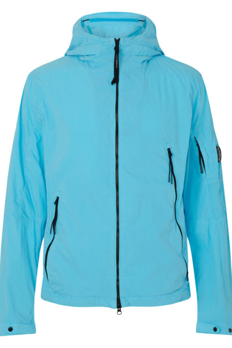 C.P. Company Men's Shell Jacket Blue FRONT