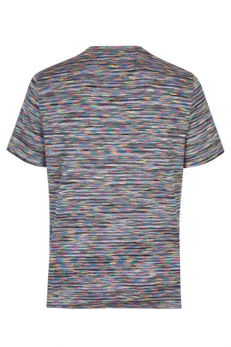Missoni Men's Cotton Zig Zag T-Shirt Green