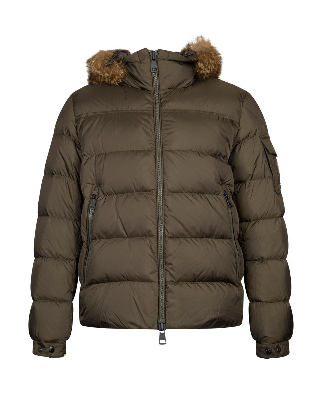 moncler mens khaki jacket