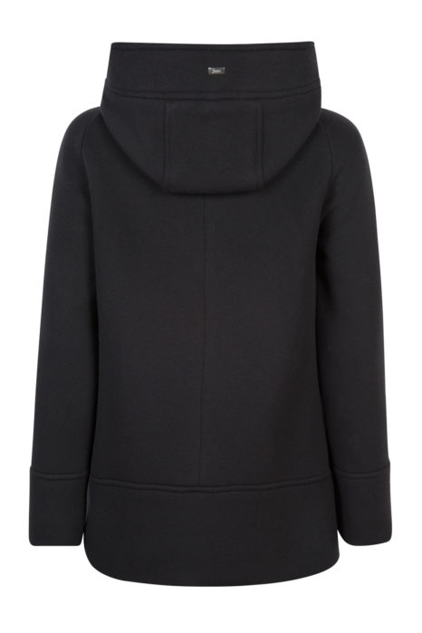 Herno Women's Hoodie Coat Black