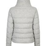 Herno Women's Lurex Down Jacket Grey