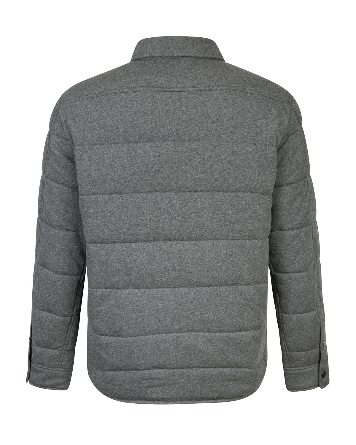 Velvet Men S Quilted Down Jacket Grey Linea Fashion