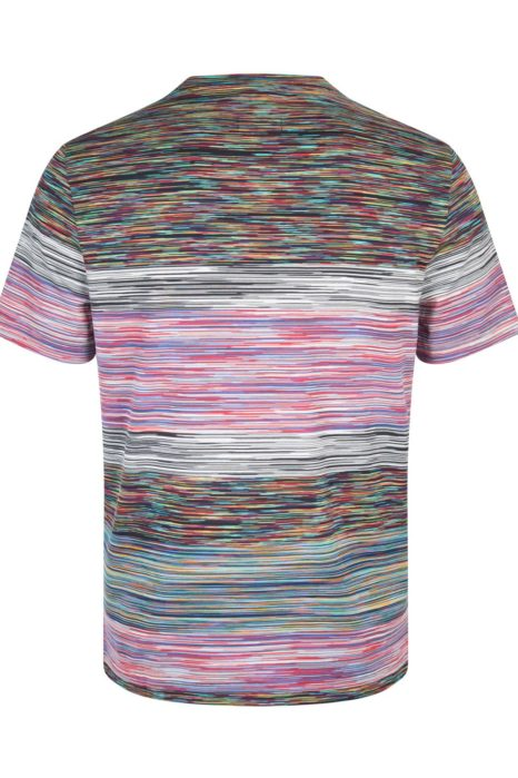 Missoni Men's Cotton Stripe T-Shirt Green