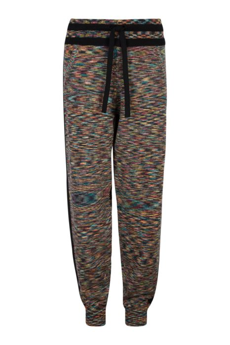 Missoni Women's Cashmere Tracksuit Bottoms Multicoloured