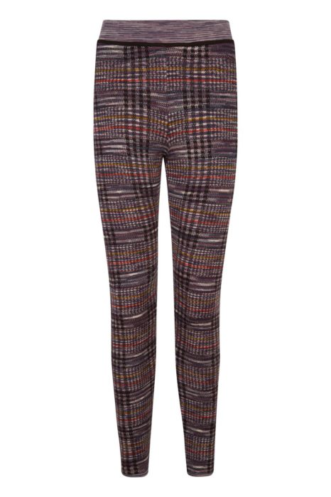 Missoni Women's Checked Trousers Brown