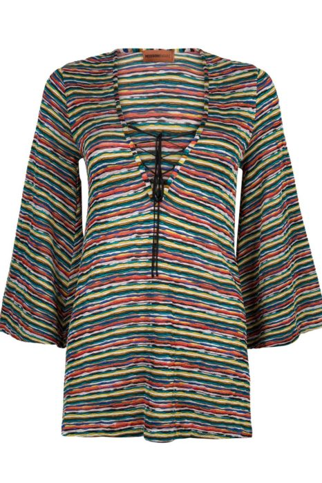 Missoni Women's Mare Crotchet-Knit Kaftan Multicoloured