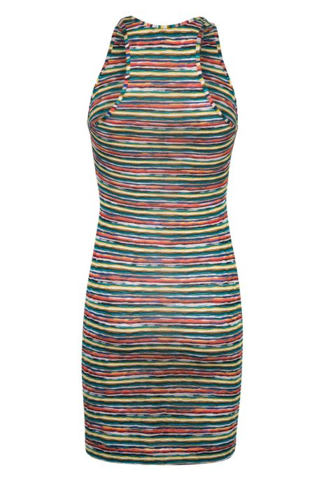 Missoni Women's Racer Back Mini-Dress Multicoloured