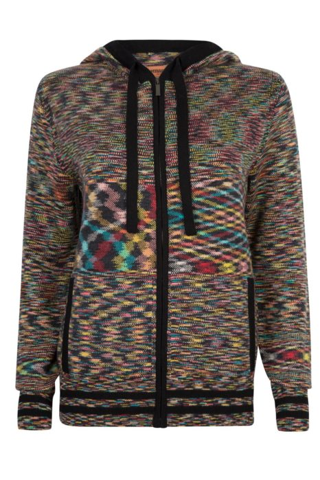 Missoni Women's Cashmere Hoodie Multicoloured