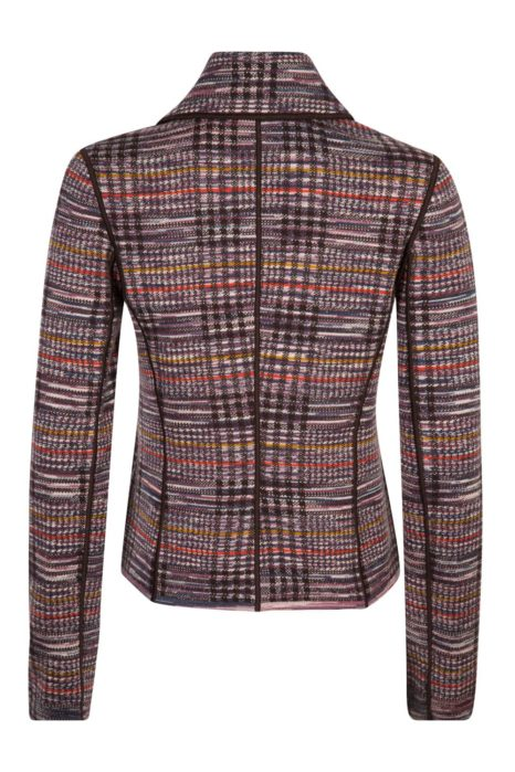 Missoni Women's Checked Blazer Jacket Brown