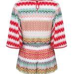 Missoni Women's Crotchet-Knit Kaftan Jumpsuit Red