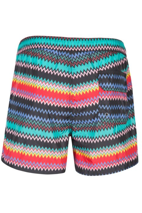 Missoni Men's Mare Zig Zag Swim Shorts Blue