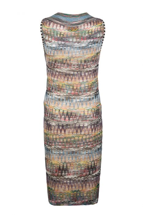 Missoni Women's Round-Neck Dress Beige