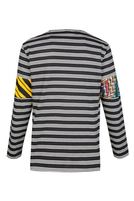 Missoni Men's Cotton Patchwork Sweatshirt Yellow