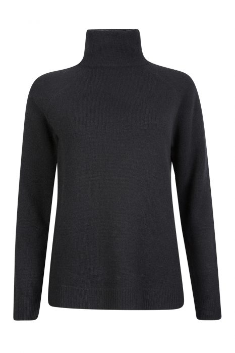 Blumarine Women's Turtle Neck Sweater Black