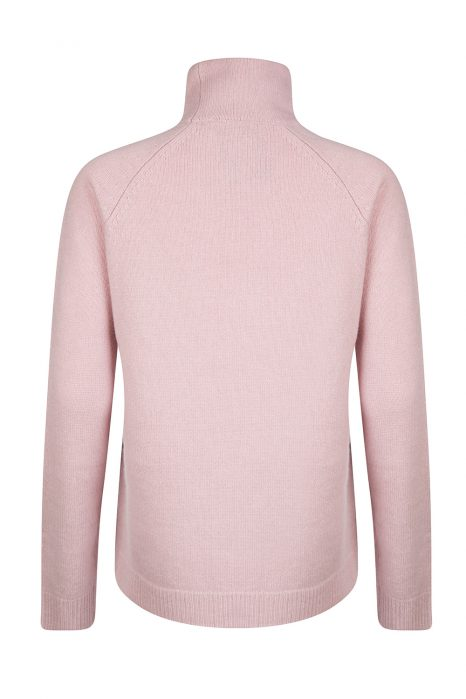 Blumarine Women's Turtle Neck Sweater Pink