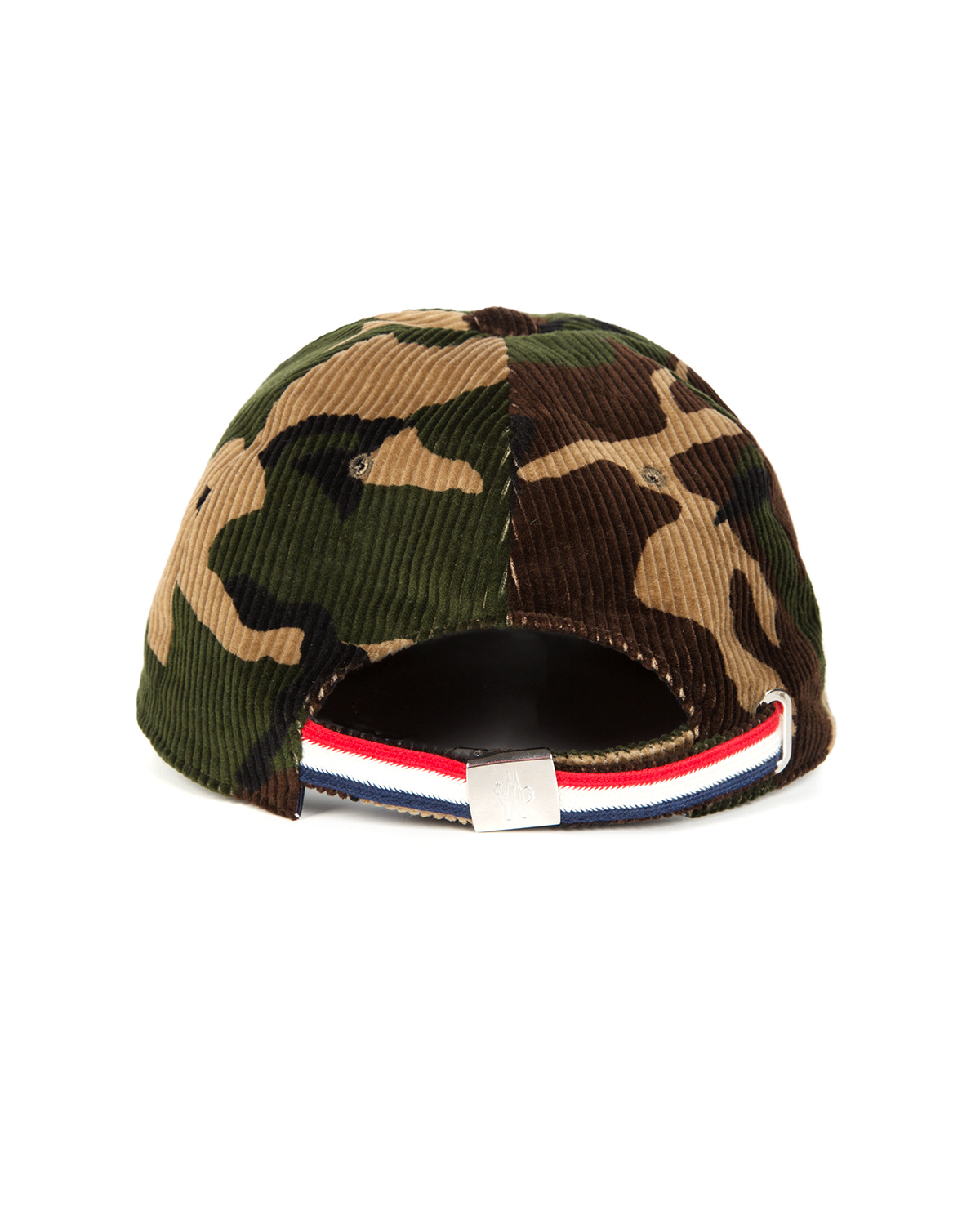 5897216d500 Moncler Men s Velvet Baseball Cap Camo Green 86310 2 - Linea Fashion