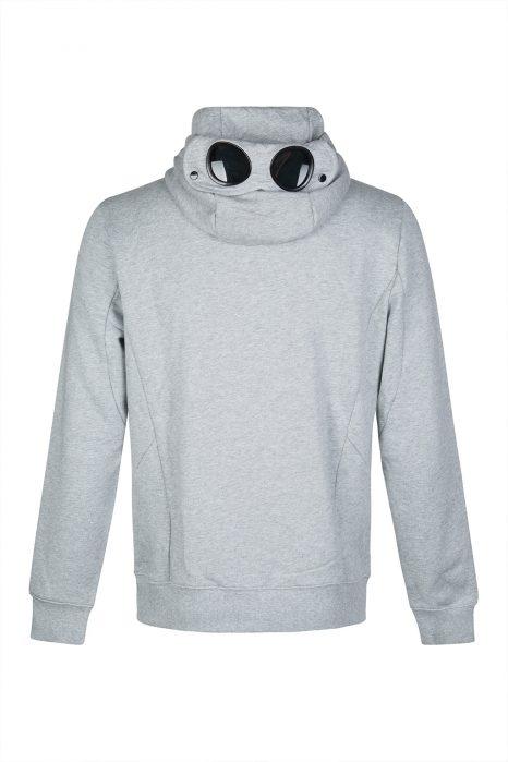 C.P. Company Men's Goggle Lens Hoodie Grey