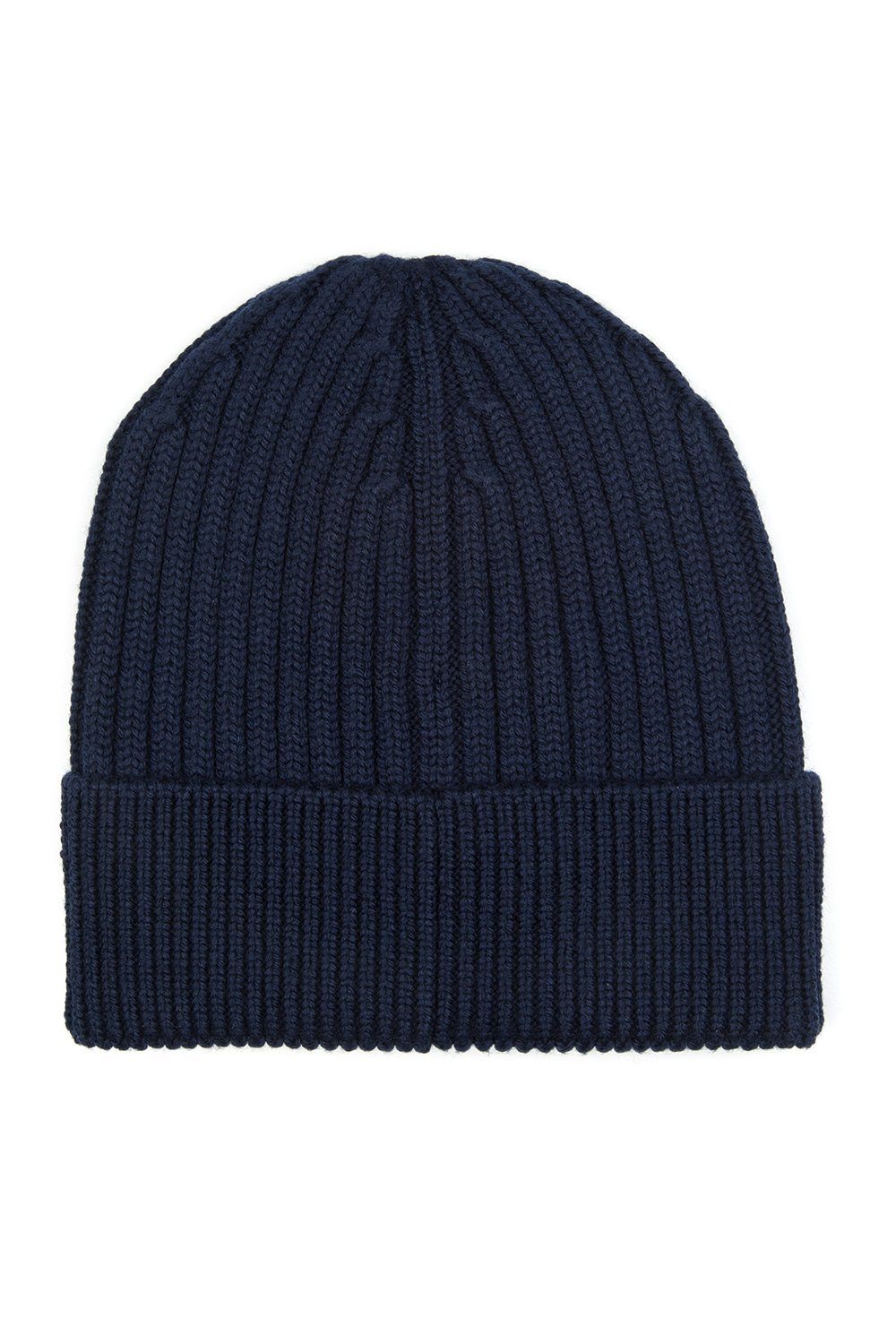 12de44d5510 Moncler Grenoble Men s Ribbed Beanie Hat Navy - Linea Fashion