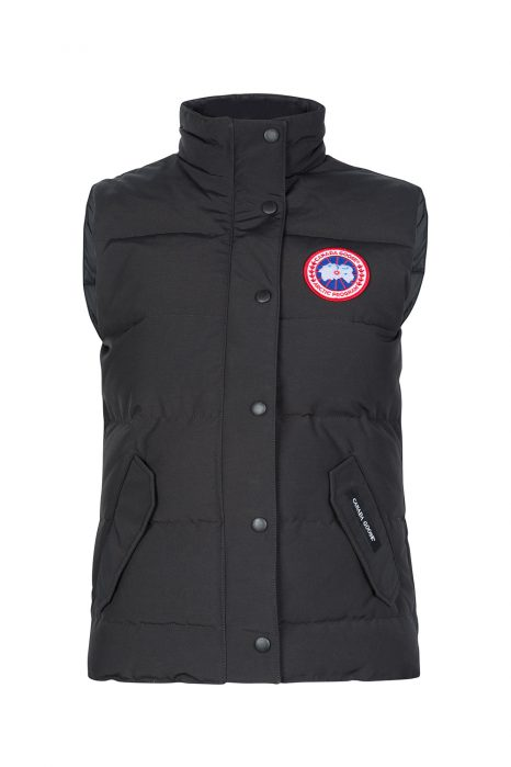 Canada Goose Women's Freestyle Crew Vest Black