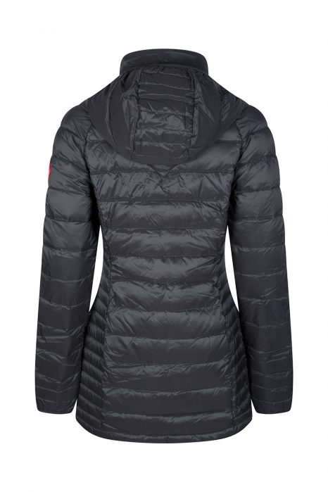 Canada Goose Women's Brookvale Hooded Coat Black