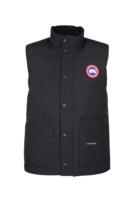 Canada Goose Men's Freestyle Crew Vest Black