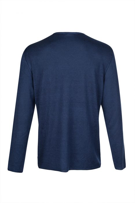 John Varvatos Cashmere-blend Jumper Blue