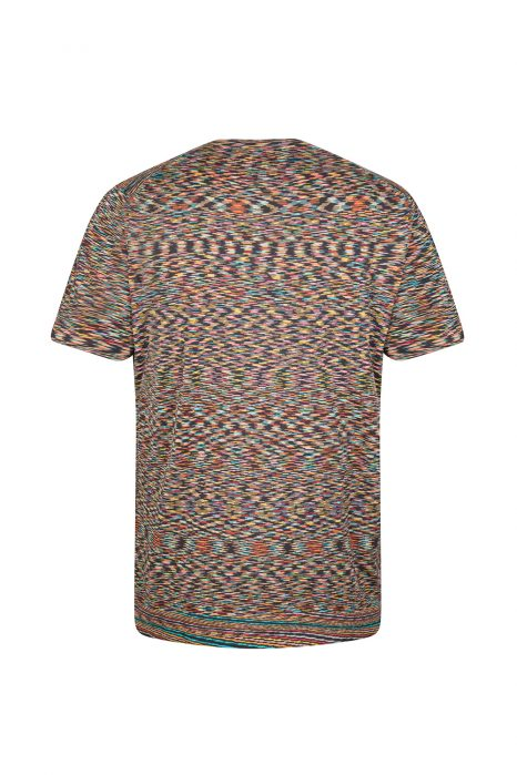 Missoni Men's Zig Zag Knitted Top Multicoloured