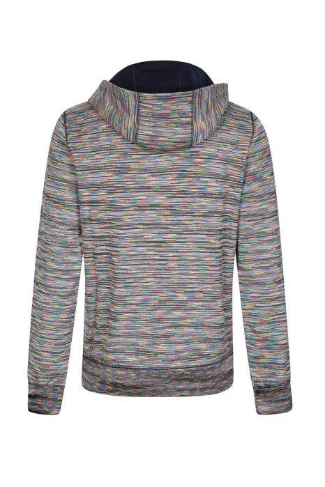 Missoni Men's Striped Zip Front Hoodie Multicoloured