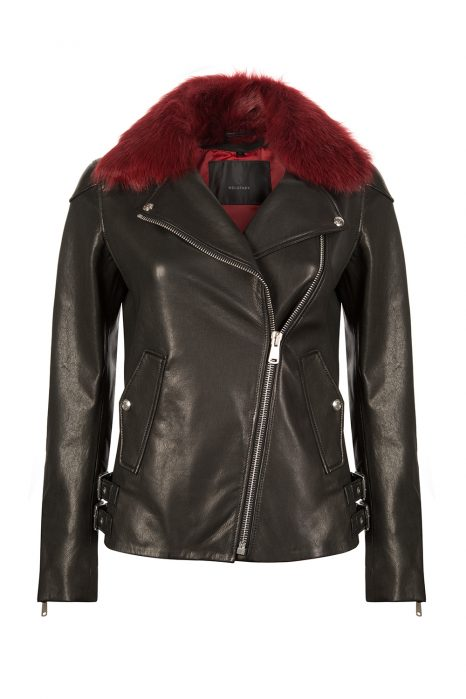 Belstaff Gaskell Women's Leather Jacket Black