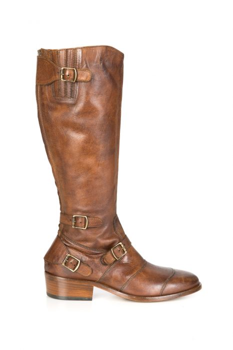 Belstaff Trialmaster Women's Long Boots Cognac Brown