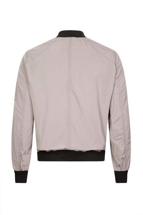 Belstaff Mallison Men's Nylon Bomber Jacket Grey