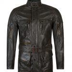 Matchless Streetfarer Evolution Men's Leather Jacket Black