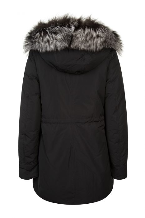 Woolrich Somerset Women's Reversible Down Coat Black