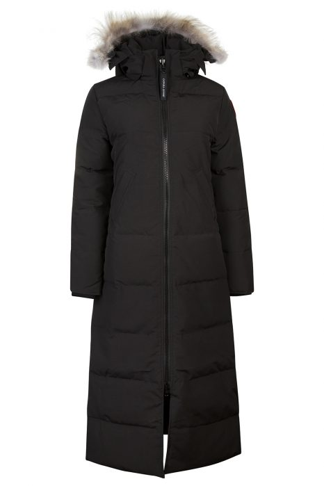 Canada Goose Mystique Women's Long Coat Black