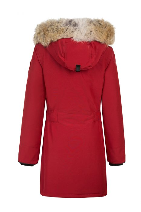 Canada Goose Trillium Women's Long Parka Red