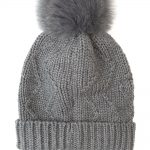 Woolrich Serenity Ladies Ribbed Knit Beanie Grey