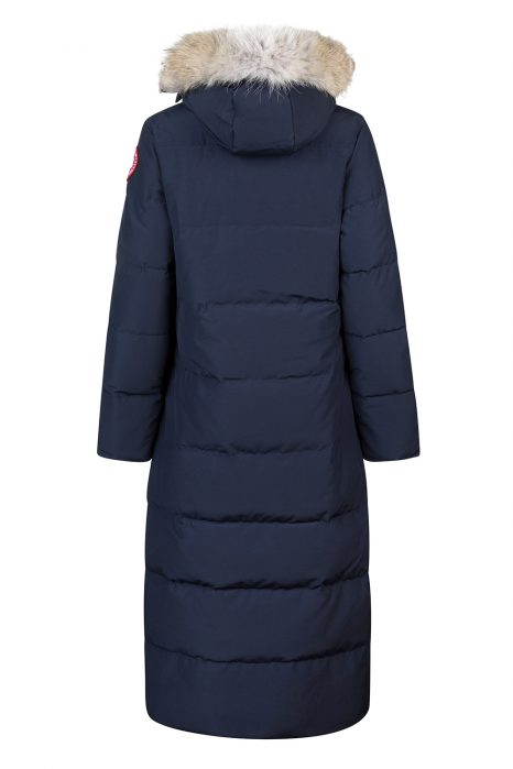 Canada Goose Mystique Women's Long Coat Navy