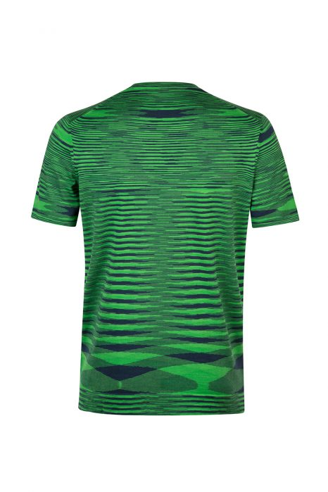 Missoni Men's Space-dye Short-Sleeved Top Green