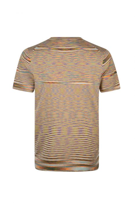 Missoni Men's Abstract Patterned Top Orange
