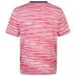 MissoniMen's Contrast Collar Striped T-shirt Red