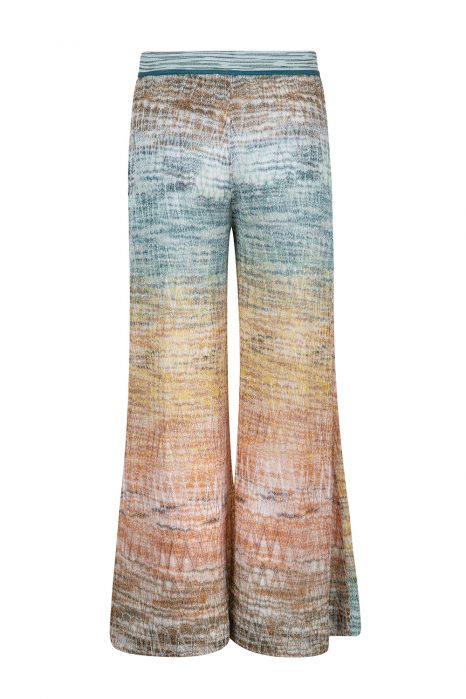 Missoni Women's Ombre Wide Leg Trousers Gold