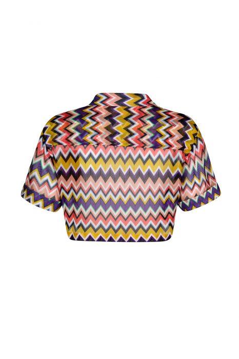 Missoni Women's Zig Zag Top Multicoloured