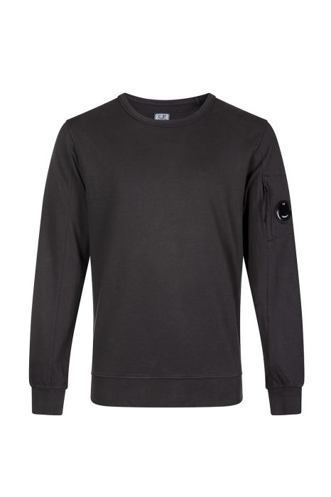 C.P. Company Men's Crew-neck Sweatshirt Dark Grey