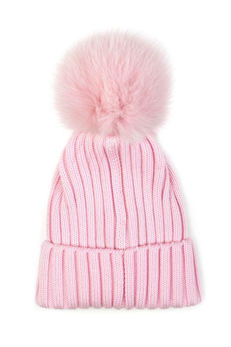 f14c46be0b5 Moncler Women s Pom-pom Beanie Hat Pink