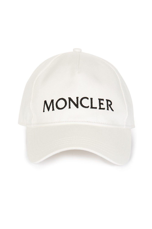 Moncler Women s Baseball Cap White - Linea Fashion bd101f62374