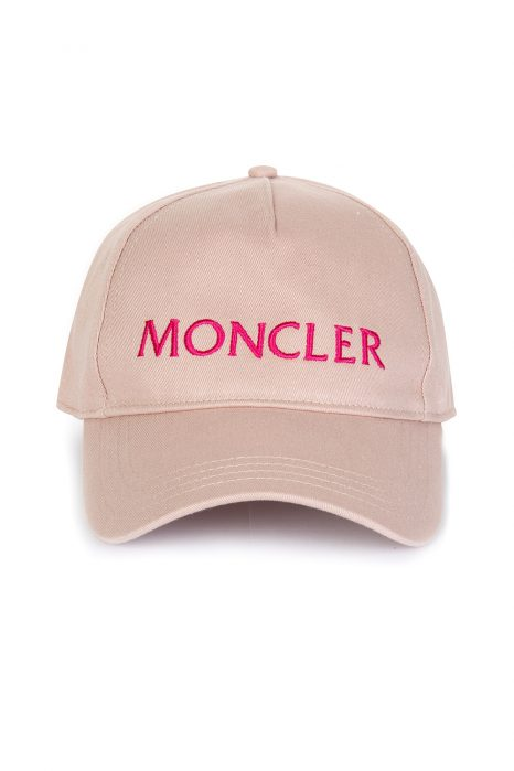 76e42810988 Moncler Women s Baseball Cap Pink Moncler Women s Baseball Cap Pink
