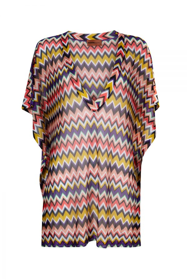 Missoni Women's Zig Zag Kaftan Multicoloured