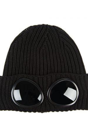 C.P. Company Men's Goggle Beanie Black